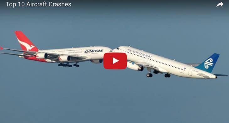 Tesla >> Veja os 10 piores acidentes de avião que foram filmados - Vídeo